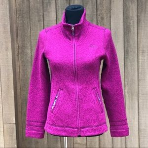 The North Face Sweater Fleece Jacket Knit Pink S